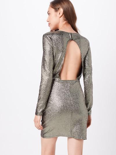 ONLY Kleid 'ALESSA' in gold / schwarz: Rückansicht