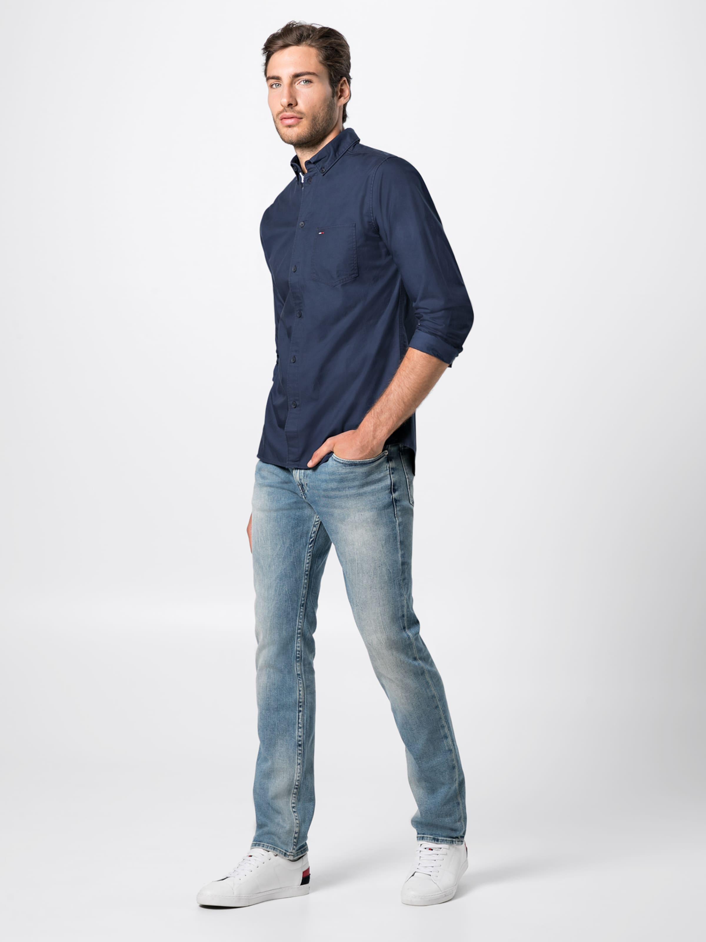 Hemd Dunkelblau Hemd In Dunkelblau Jeans Tommy Tommy Jeans In UVMLqSpzG