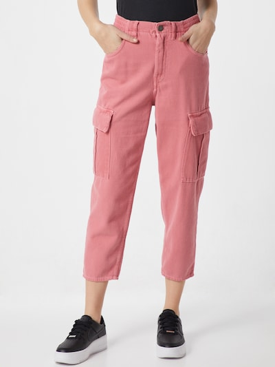 AMERICAN VINTAGE Hose 'TINEBOROW' in pink, Modelansicht