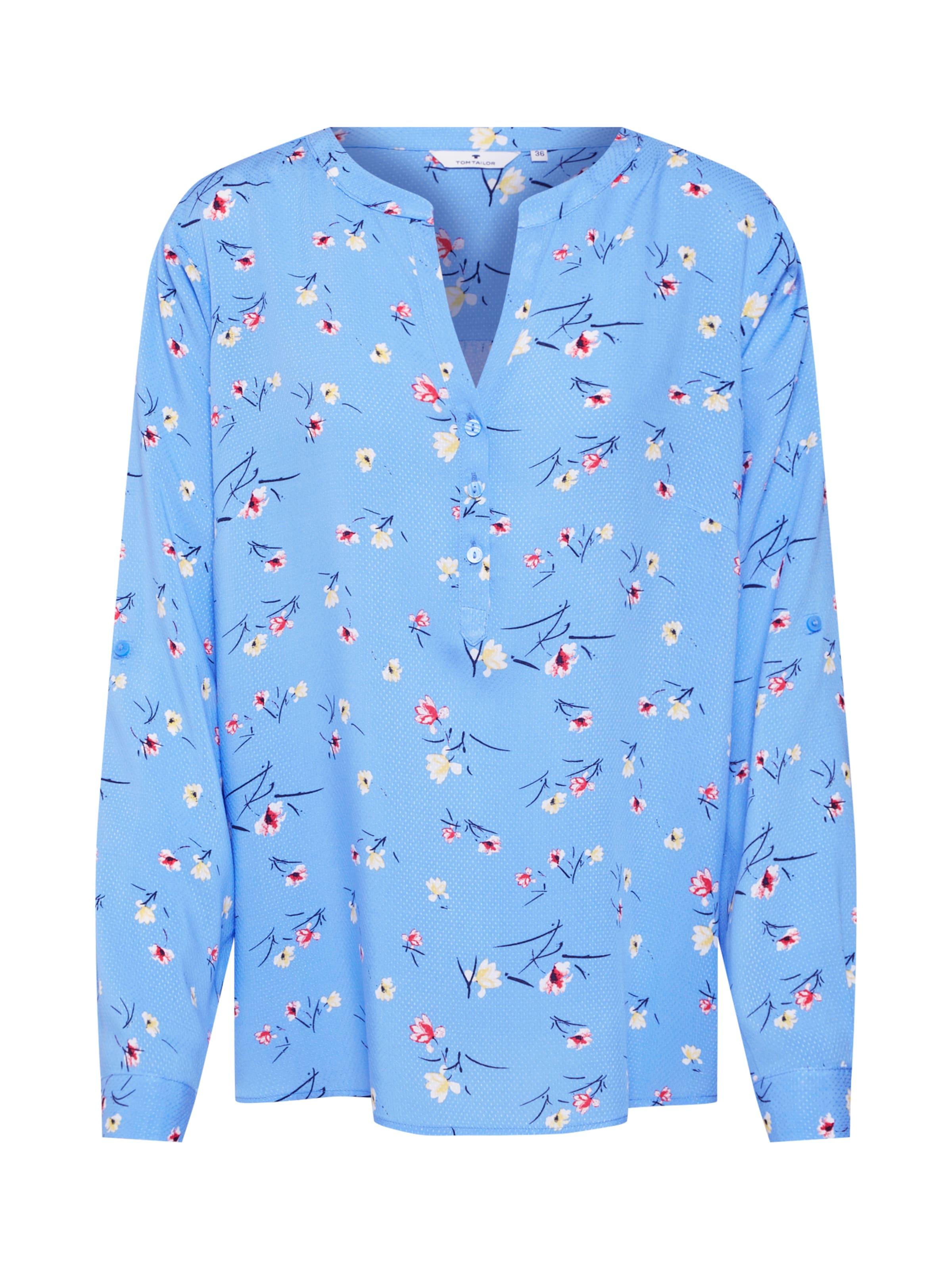 Bluse Tailor Blouse' Blau Tom In 'printed VqSMGpUz