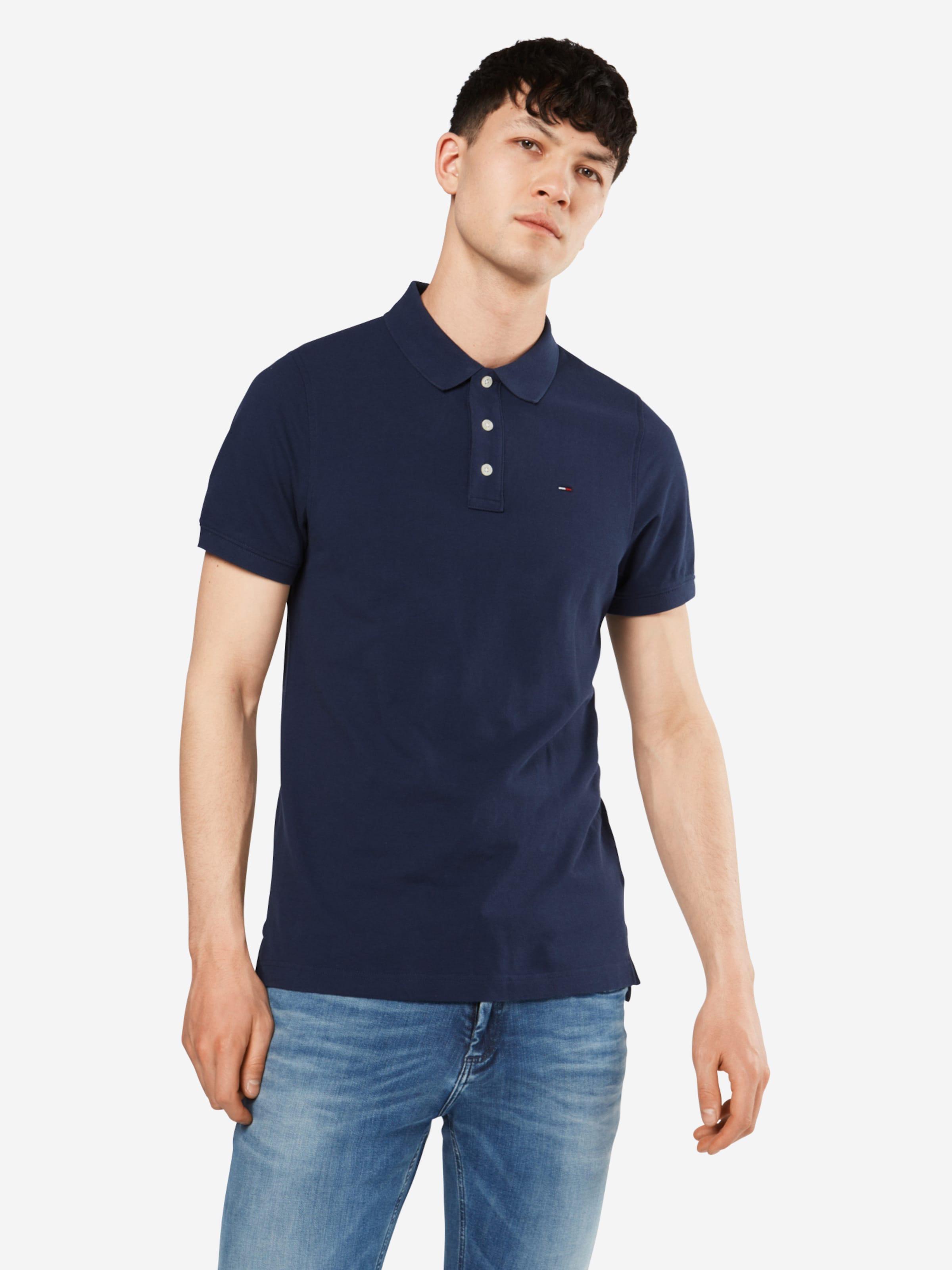En Bleu 'tjm S shirt Pique s' Original Tommy T Fine Foncé Jeans 1cTKJlF