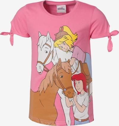 Bibi und Tina Shirt in mischfarben / hellpink, Produktansicht