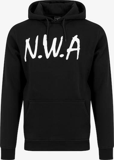 Mister Tee Hoody 'N.W.A' in schwarz / weiß: Frontalansicht