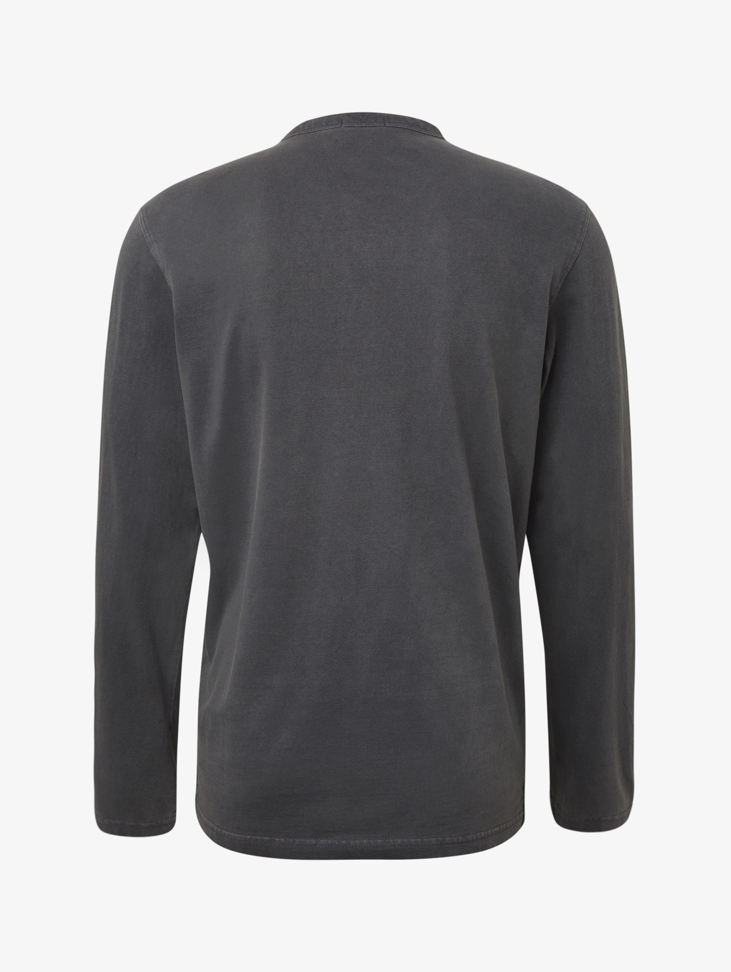 Tom shirt Dunkelgrau T In Tailor QshrCotxBd