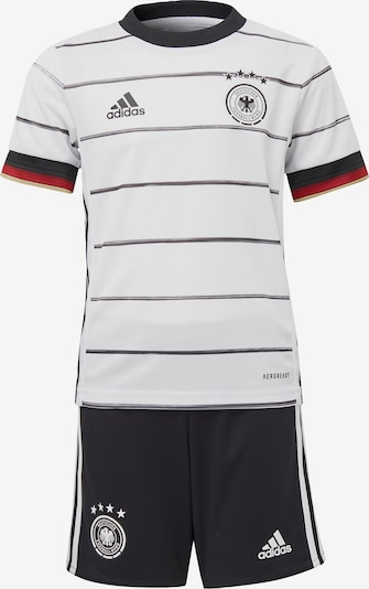 ADIDAS PERFORMANCE Sport-Ganzteile in rot / schwarz / weiß, Produktansicht