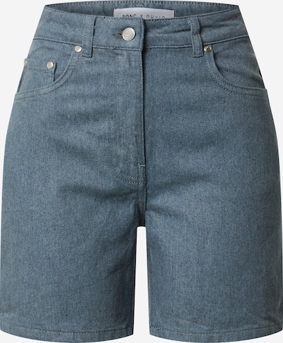 NU-IN Shorts in blue denim, Produktansicht