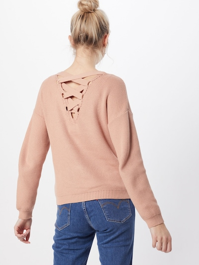ABOUT YOU Pullover 'Caryl' in rosé, Modelansicht