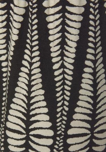 LASCANA Broek in de kleur Sand / Zwart, Productweergave