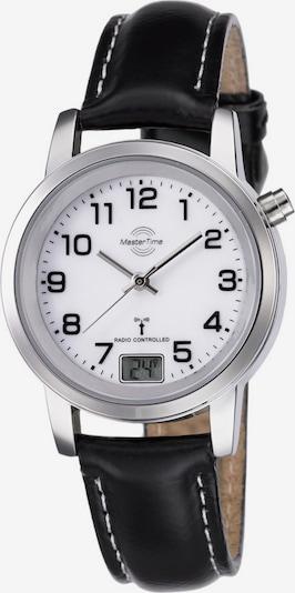 Master Time Uhr 'MTLA-10295-12L' in schwarz / silber / weiß, Produktansicht