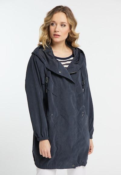DREIMASTER Mantel in dunkelblau, Modelansicht
