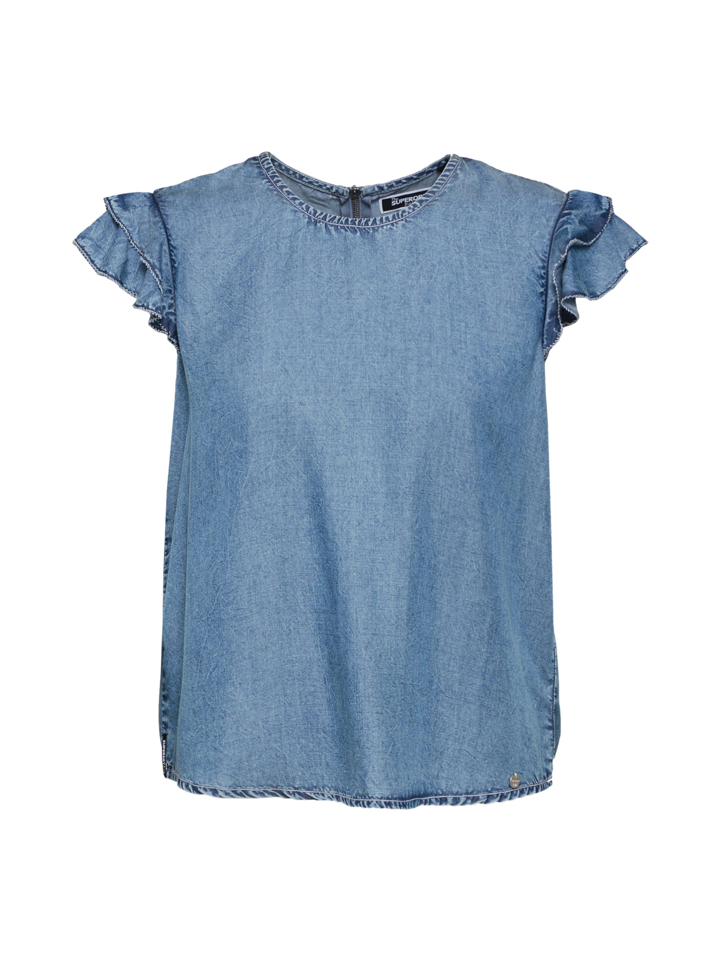 Bluse Bluse In Superdry In Blau Blau Blau Superdry Superdry Bluse In In Bluse Superdry OX0kNZPw8n