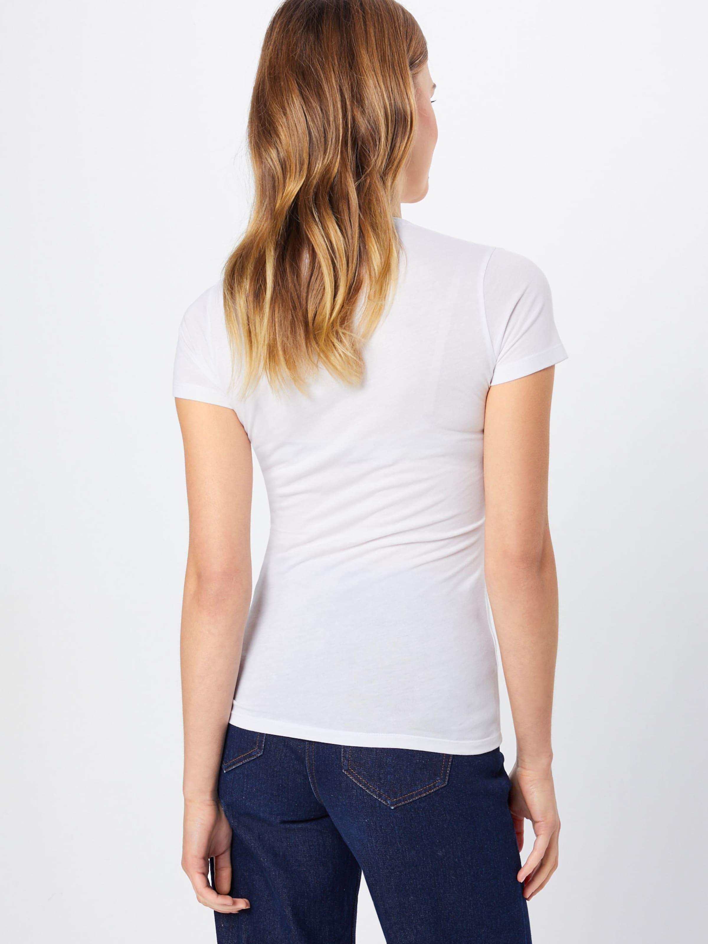 Jeans En 'andrea' Bleu shirt T Pepe ClairBlanc WED9H2I