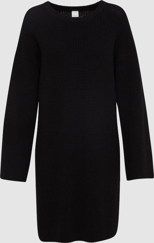 BOSS Strickkleid 'Itarisa' in schwarz  Bequem und günstig