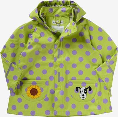 PLAYSHOES Regenjacke 'große Punkte' in grün, Produktansicht