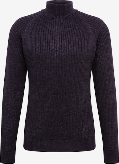 JACK & JONES Pullover 'RERIC KNIT ROLL NECK TC319' in schwarz, Produktansicht