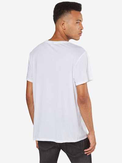G-Star RAW T-Shirt 'Base HTR' in weiß: Rückansicht