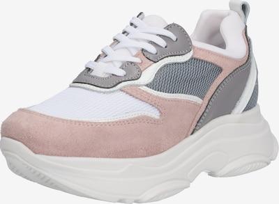 testszínű / szürke / rózsaszín / fehér PS Poelman Rövid szárú edzőcipők, Termék nézet