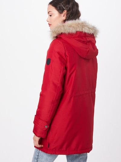 Ilga žieminė striukė 'VMEXCURSION EXPEDITION AW193/4PARKA NOOS' iš VERO MODA , spalva - raudona: Vaizdas iš galinės pusės