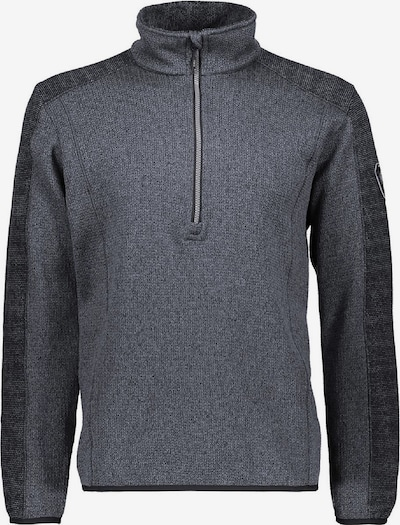 CMP Pullover 'Knittech Jaquard' in dunkelgrau, Produktansicht