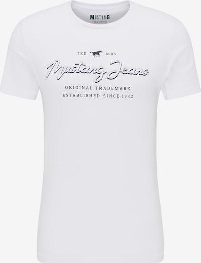 MUSTANG T-Shirt ' T-Shirt ' in weiß, Produktansicht
