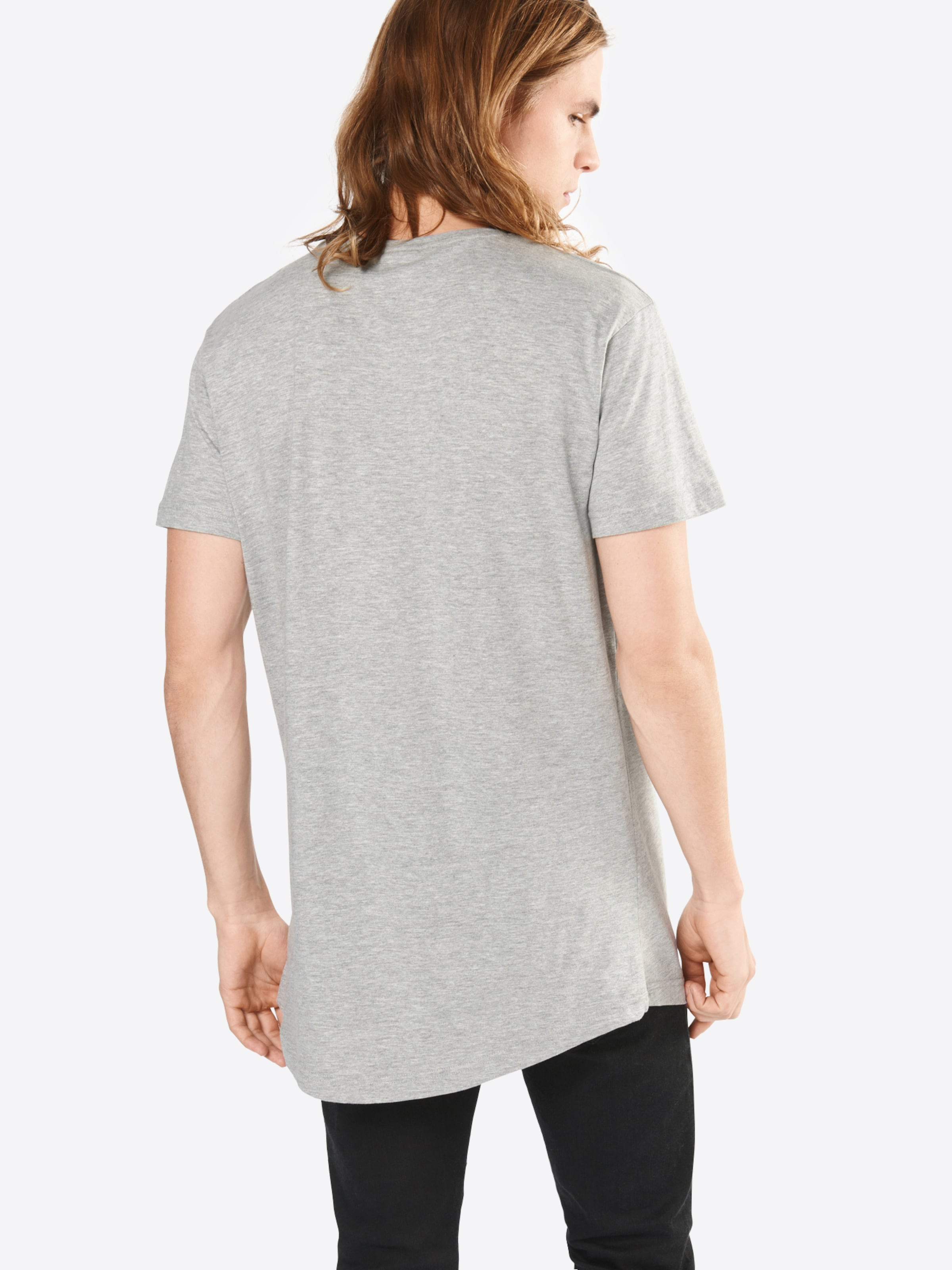 Chiné Long Gris 'shaped Classics shirt Tee' En T Urban fb6yvmYIg7