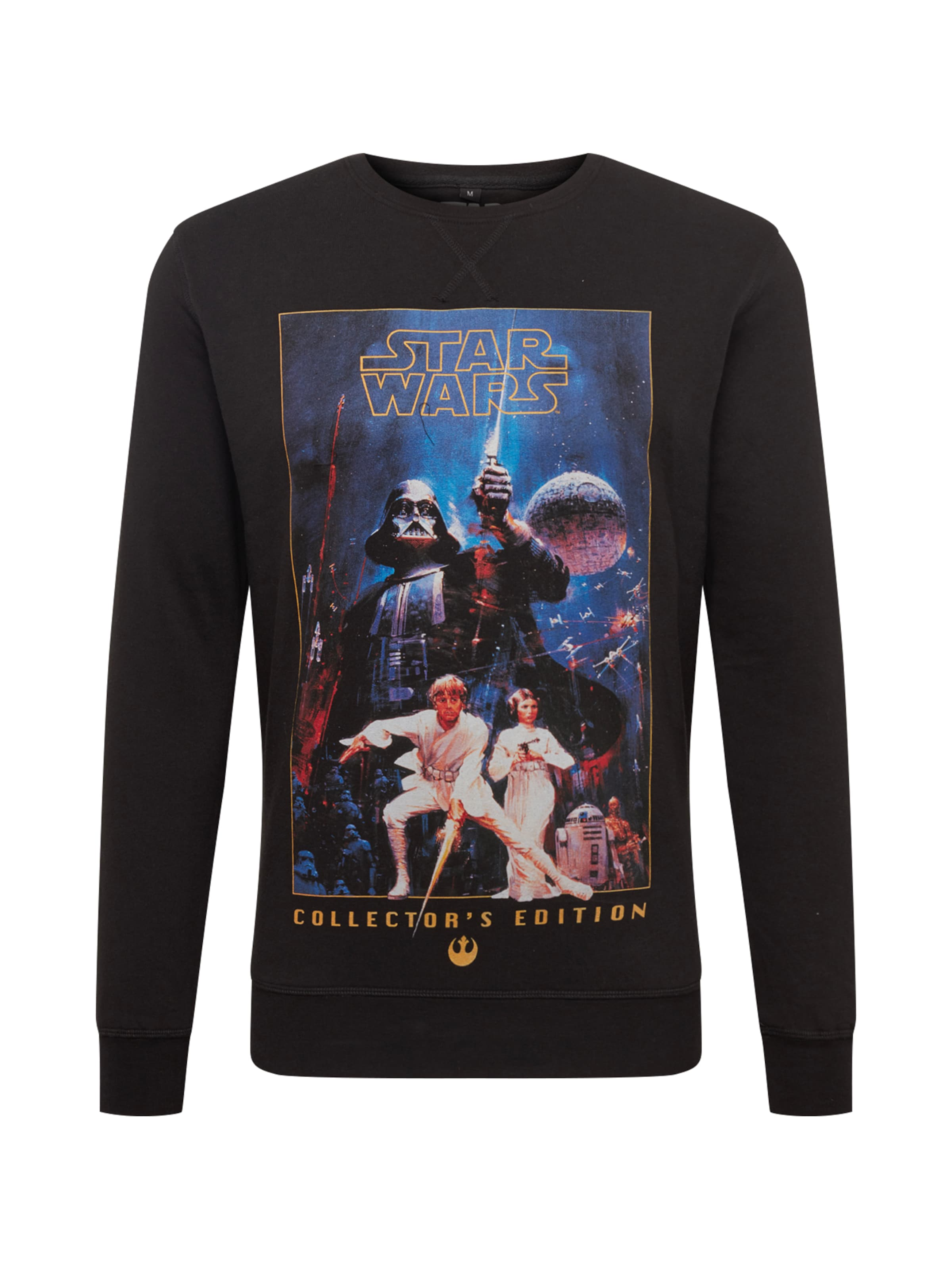 Collectors Tee BlauSchwarz Poster Wars Shirt In 'star Edition Mister Crewneck' TJculFK13
