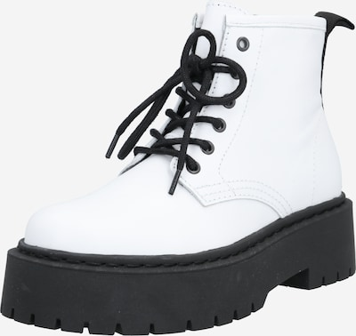 Bianco Škornji 'Biadeb' | črna / bela barva: Frontalni pogled