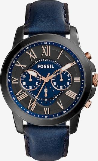 FOSSIL Chronograph 'FS5061IE' in ultramarinblau / gold, Produktansicht
