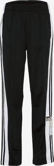 ADIDAS ORIGINALS Pantalon 'OG Break' en noir / blanc, Vue avec produit