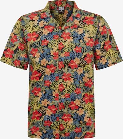 Urban Classics Koszula 'Pattern Resort Shirt' w kolorze zielony / czerwony / czarnym, Podgląd produktu
