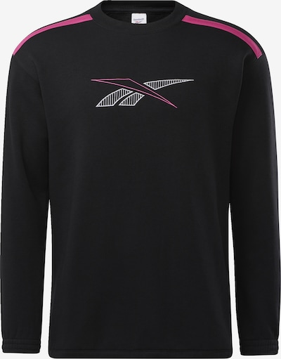 Reebok Classic Sportsweatshirt in de kleur Pink / Zwart / Wit, Productweergave