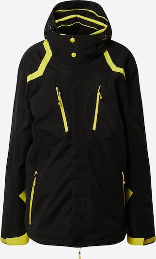 Sportinė striukė 'Savognin' iš KILLTEC , spalva - geltona / juoda, Prekių apžvalga