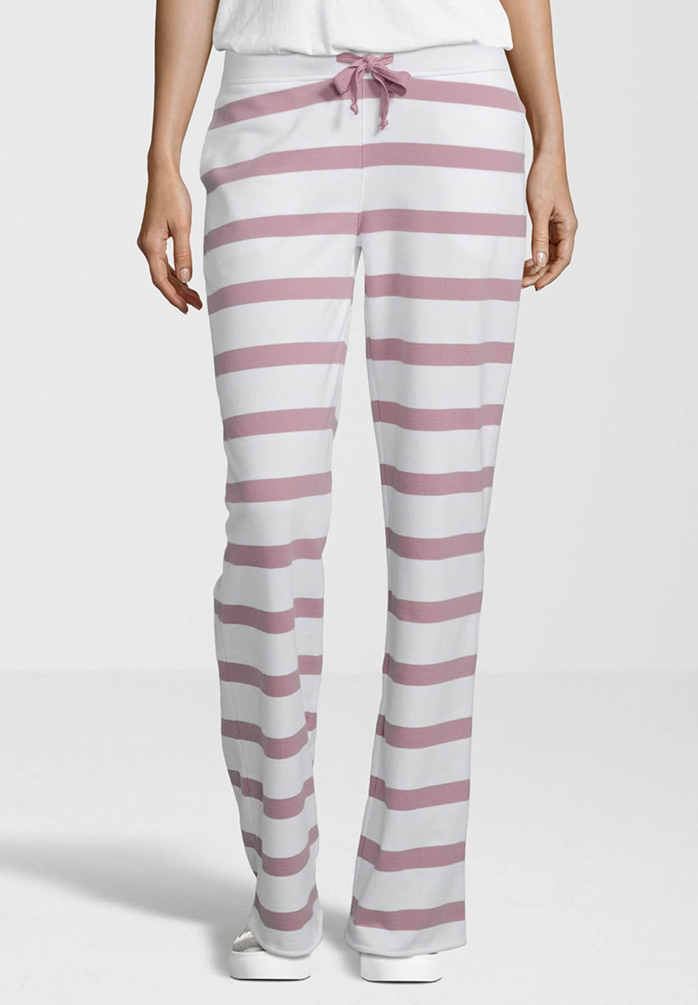Sweathose Stripe' In RoséWeiß 'fleece Juvia UGSzLqMpV