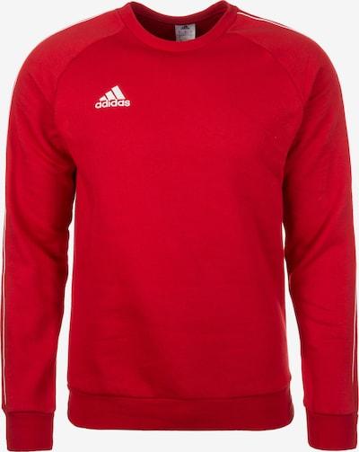ADIDAS PERFORMANCE Sweatshirt 'Core' in rot / weiß, Produktansicht
