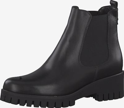 TAMARIS Chelsea boots in de kleur Zwart: Vooraanzicht