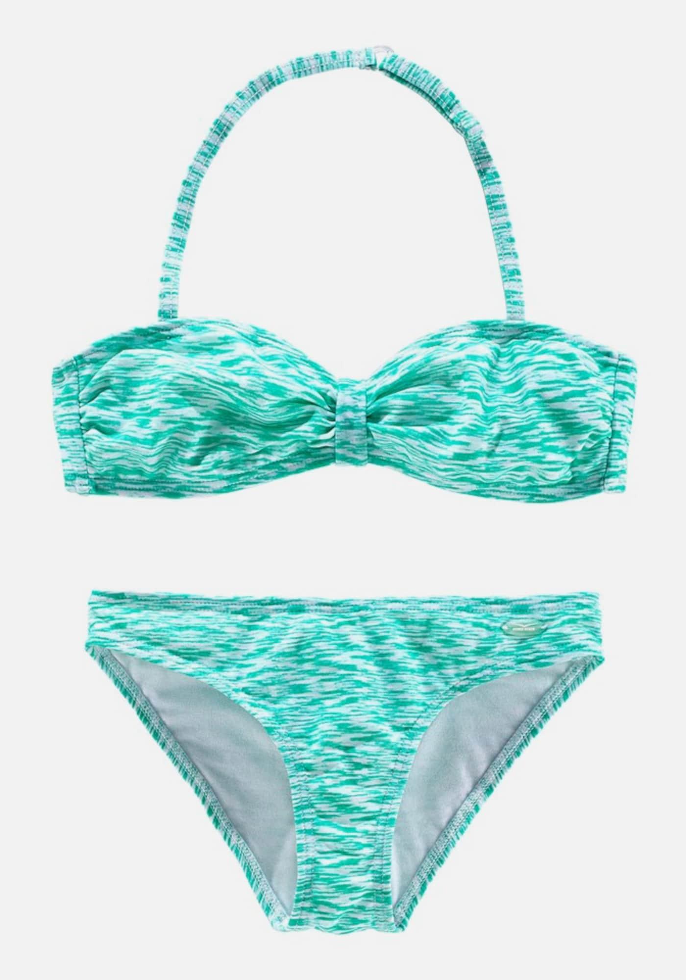venice beach bandeau bikini in blau about you. Black Bedroom Furniture Sets. Home Design Ideas