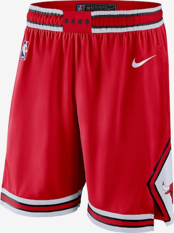 NIKE Basketball-Shorts 'Chicago Bulls' in Rot