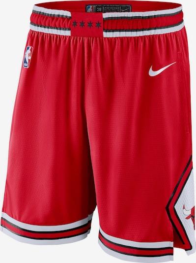 NIKE Basketball-Shorts 'Chicago Bulls' in rot / weiß, Produktansicht