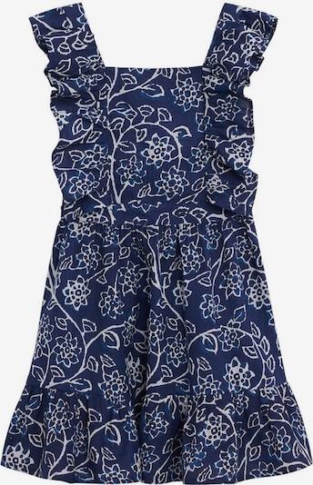 MANGO KIDS Kleid 'Brava' in royalblau / weiß, Produktansicht