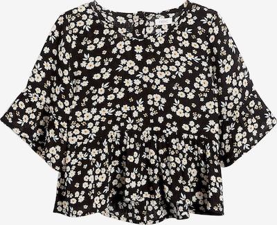 NEXT Bluse in schwarz / weiß, Produktansicht