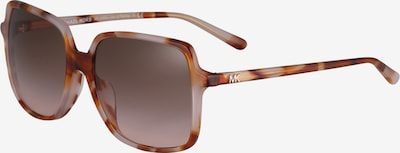Michael Kors Sonnenbrille 'ISLE OF PALMS' in beige: Frontalansicht