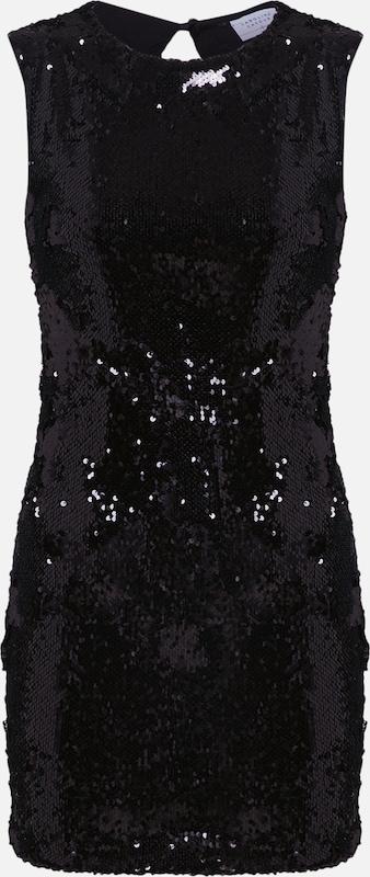 Dress' Carolina Cavour 'sequins Robe En Noir PkZXiOu