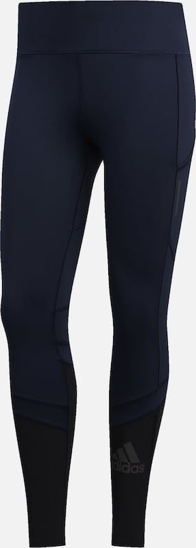 ADIDAS PERFORMANCE Leggings 'How We Do Rise Up N' in navy / nachtblau, Produktansicht
