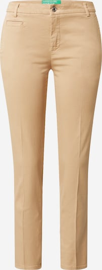 UNITED COLORS OF BENETTON Hose in beige: Frontalansicht