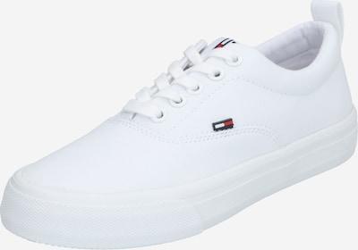 Tommy Jeans Baskets basses en rouge / noir / blanc, Vue avec produit