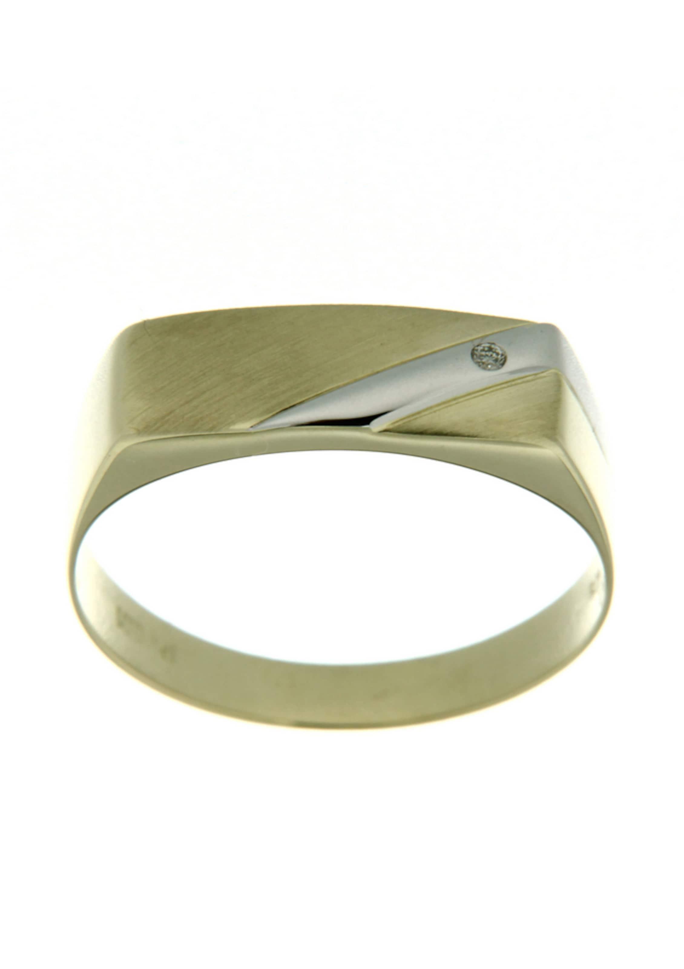 FIRETTI Siegelring mit Diamant Billig Verkauf Niedriger Preis Günstig Kaufen Für Billig Erhalten Verkauf Online Kaufen LlndE
