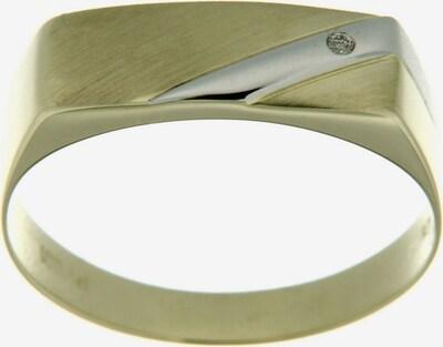 FIRETTI Siegelring mit Diamant in gold / silber, Produktansicht