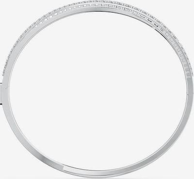 Swarovski Zapestnica | srebrna / transparentna barva, Prikaz izdelka