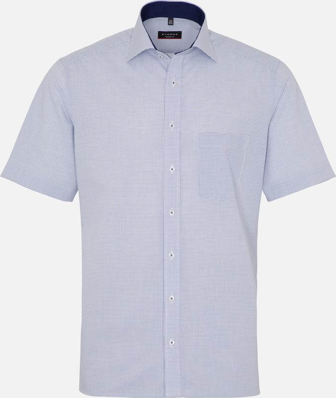 ETERNA Hemd in blau   weiß  Bequem und günstig