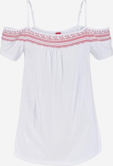s.Oliver Strandshirt in weiß, Produktansicht